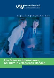 Life Sciences - UHY Lauer & Partner