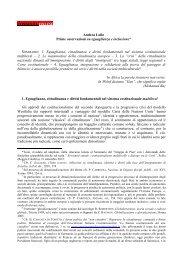 Prime osservazioni su eguaglianzae inclusione - Consulta online