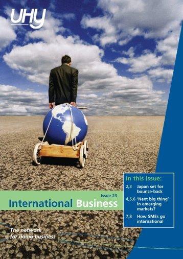 Issue 23 July 2011 - UHY International