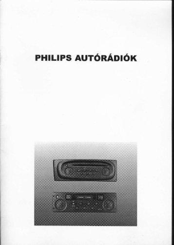 Philips autórádiók - Renault Megane Klub