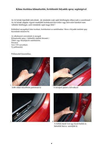 Klíma tisztítása.pdf - Renault Megane Klub