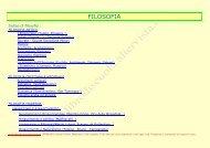 FILOSOFIA - Libro di scuola - Altervista