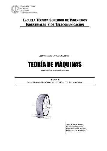 mecanismos de contacto directo - Ingeniería Mecánica Aplicada y ...