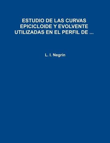 Estudio de las curvas epicicloide y evolvente utilizadas en el perfil ...
