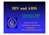 HIV und AIDS - Universitätsklinikum Bonn