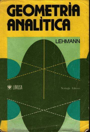 Geometría analítica. - Web del Profesor
