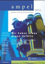 Ampel-Ausgabe 19, August 2006 - Unfallkasse Rheinland-Pfalz