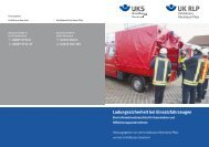 Ladungssicherheit bei Einsatzfahrzeugen - Unfallkasse Rheinland ...