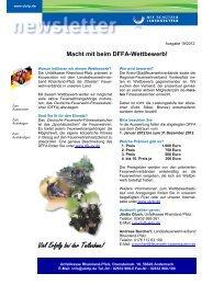 Macht mit beim DFFA-Wettbewerb! - Unfallkasse Rheinland-Pfalz