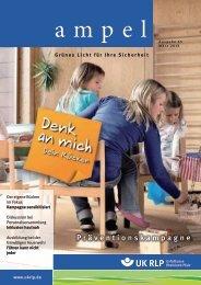 Aktuelle Ampel Ausgabe 45, März 2013 - Unfallkasse Rheinland-Pfalz