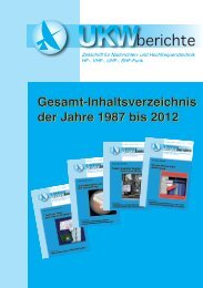 zurückliegender Jahrgänge (PDF mit 1,2MB) - bei UKW-Berichte