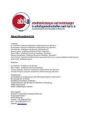 Das Projekt abba - Deutsche Gesetzliche Unfallversicherung
