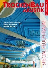 Sonderdruck Zeitschrift Trockenbau Aktuell.pdf - Ullrich & Schön