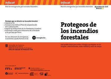 Protegeos de los incendios forestales