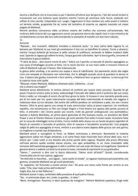 L'isola di cemento - James G. Ballard.pdf - Autistici/Inventati