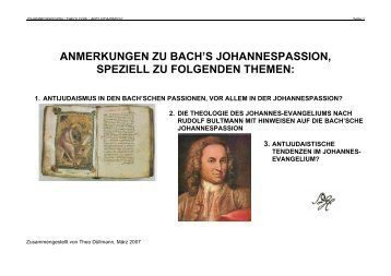anmerkungen zu bach's johannespassion - ulmer-kantorei.de