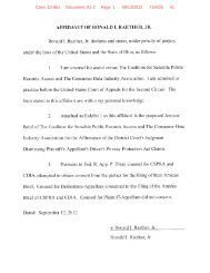 AFFIDA VIT OF RONALD I. RAETHER, JR. Ronald i. Raether, Jr ...