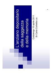 (Microsoft PowerPoint - Corbella Anzianit\340.ppt) - Cottolengo