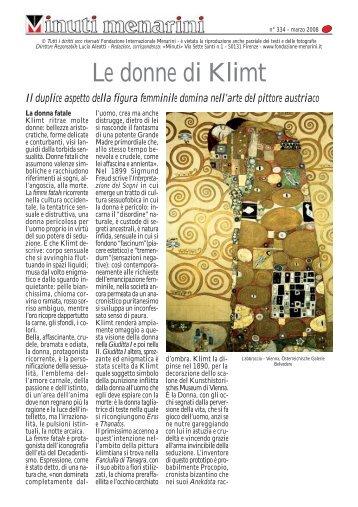 Le donne di Klimt - Fondazione Internazionale Menarini