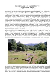 Su Sarmizegetusa e l' archeologia dacica
