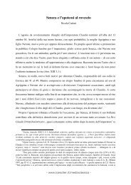 Apokolokyntosis - Loescher Editore