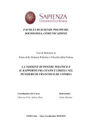 UNIVERSITA' DEGLI STUDI DI ROMA - Padis - Sapienza