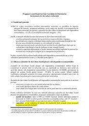 Propunere de contributie la textul Acordului de Parteneriat