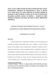 Erosão nas praias de São Paulo - Causas e efeitos - ABES