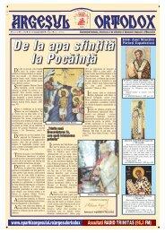 Argeșul Ortodox nr. 393 - Argesul Ortodox