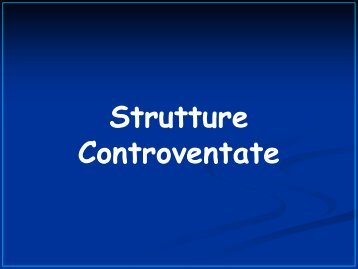 Strutture controventate - DICA