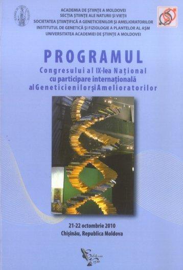 academia de ştiinţe a moldovei secţia ştiinţe ale naturii şi vieţii ...