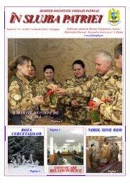 Martie 2012 - Brigada 15 Mecanizată