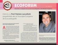 Ecoforum Newsletter nr. 2 - 2012 - Societatea Romana de Cardiologie
