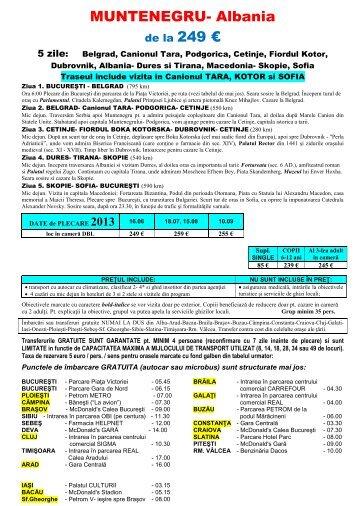 Click aici pentru detalii circuit - Alsys Travel