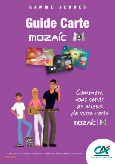 c50e22c7c378c Carte Mozaïc M6 - Crédit Agricole Alsace Vosges