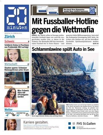 Zürich Mit Fussballer-Hotline gegen die Wettmafia - 20 Minuten