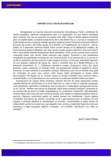 prof. Laura Orban - Iuliu Maniu