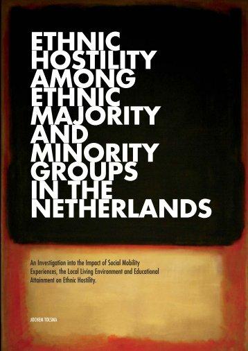 Ethnic Hostility among Ethnic Majority and Minority Groups