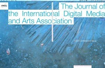 Download V7N1 PDF Version - International Digital Media and Arts ...
