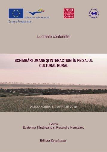 conferinţa proceedings - Măgura Past and Present