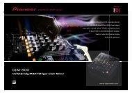 Pioneer DJM-800 - Power Projekt