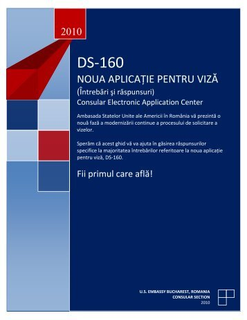 the new visa application form ds-160