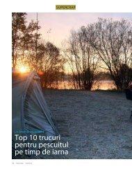 Top 10 trucuri pentru pescuitul pe timp de iarna - Quest Baits