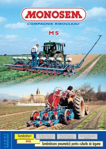 Semănătoare pneumatică pentru culturile de legume - monosem ...