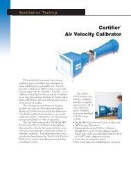 Certifier Air Velocity Calibrator - TSI
