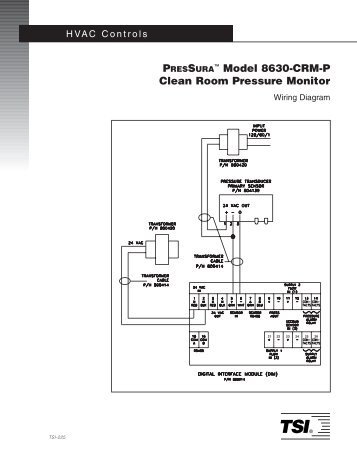 model 8630 pm room pressure monitor tsi rh yumpu com Light and Outlet Diagram for Bedroom AFCI Circuit Bedroom Wiring-Diagram