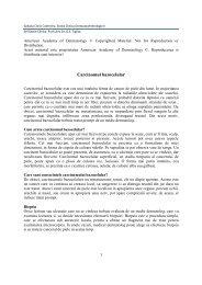 carcinomul bazocelular.pdf - Spitalul Clinic Colentina