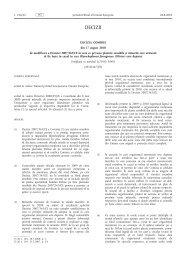 DECIZIA COMISIEI (2010/467/UE) - MADR