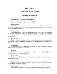 Protocol cancerul de col uterin - Spitalul Clinic Municipal de Urgenta ...