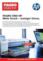 PAGRO UND HP: Mehr Druck,